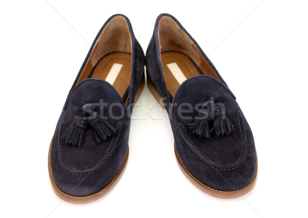 pair of suede shoes Stock photo © RuslanOmega