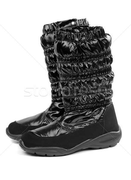 pair of warm boots Stock photo © RuslanOmega