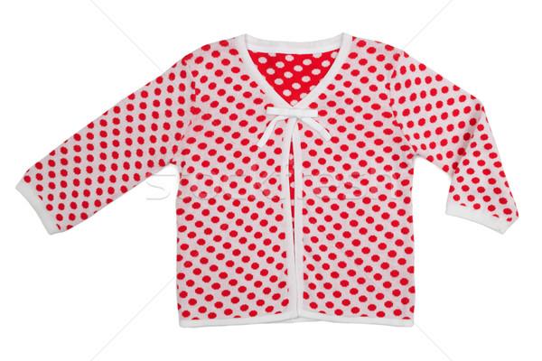 Children's jacket with polka dots Stock photo © RuslanOmega