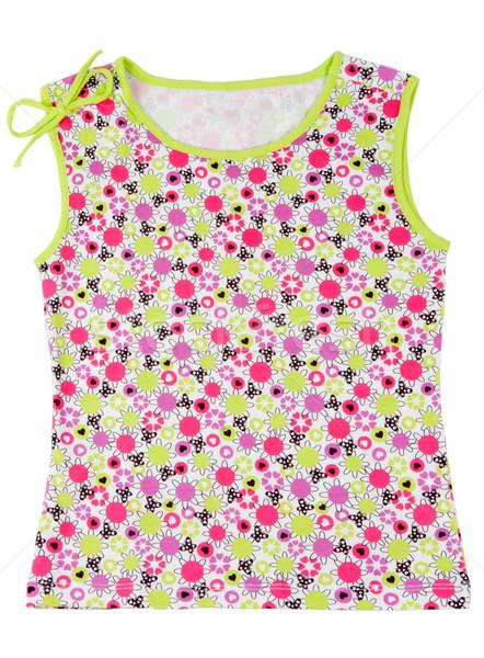 Children's colored T-shirt Stock photo © RuslanOmega