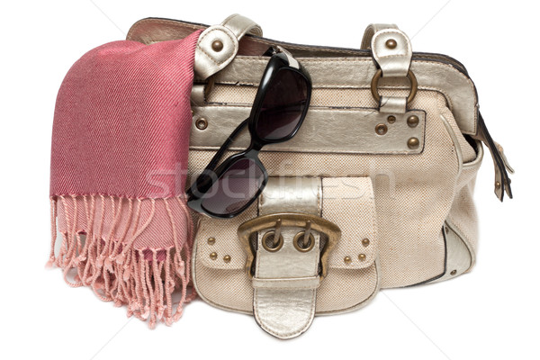 Lady hand-bag in rose charge Stock photo © RuslanOmega