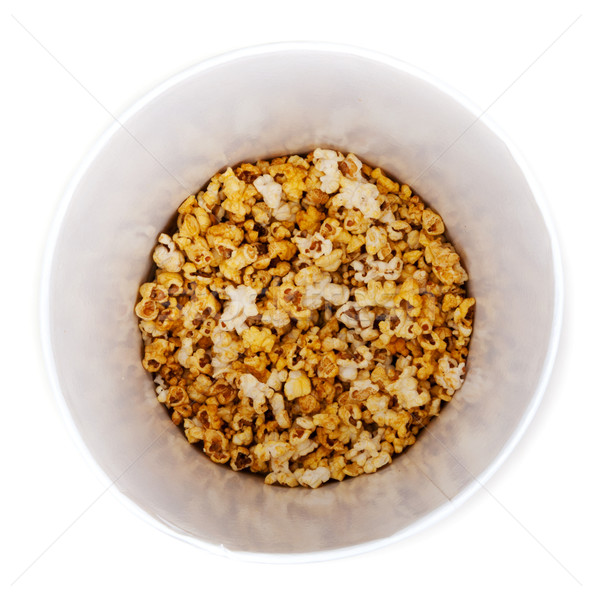 PopCorn in pail Stock photo © RuslanOmega