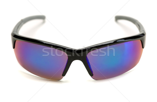 Esportes óculos de sol azul lentes branco Foto stock © RuslanOmega