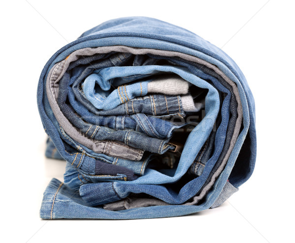 Different jeans, rolled up Stock photo © RuslanOmega