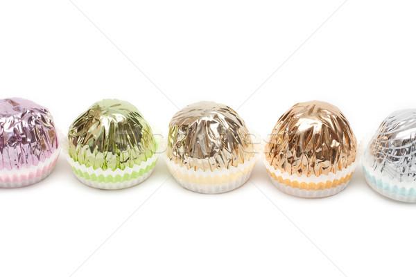 Briljant papier chocolade groene snoep Stockfoto © RuslanOmega