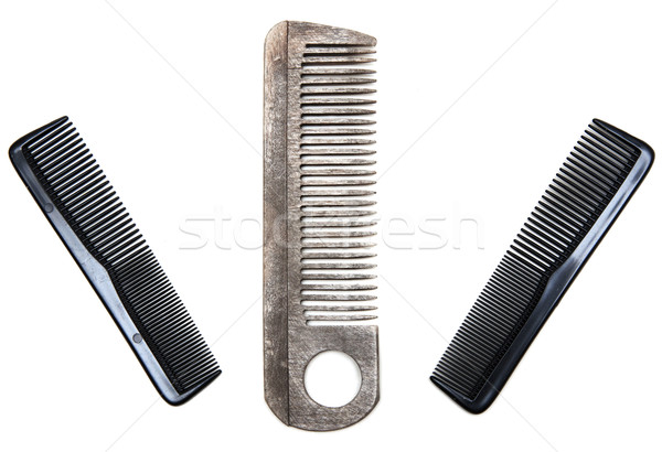 Three plastic combs Stock photo © RuslanOmega