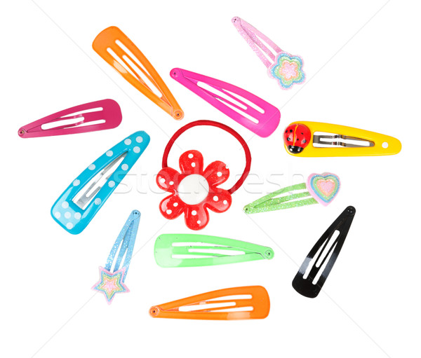 colored hairpins Stock photo © RuslanOmega