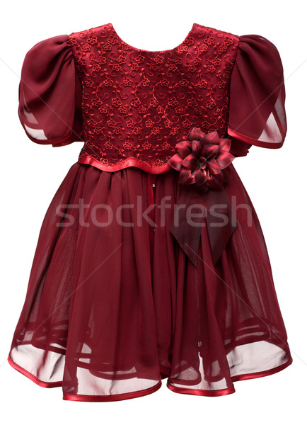Natty crimson baby gown Stock photo © RuslanOmega