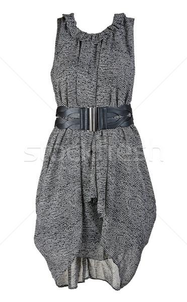 gray and stylish women's dress Stock photo © RuslanOmega
