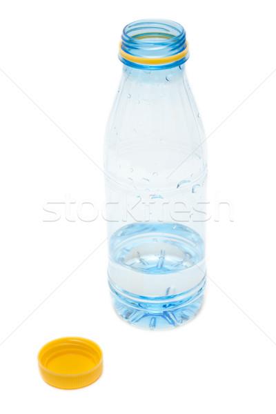 Plastica bottiglia acqua open giallo blu Foto d'archivio © RuslanOmega