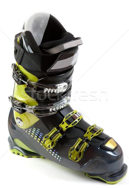 новых лыжных обуви металлический серьга белый Сток-фото © RuslanOmega