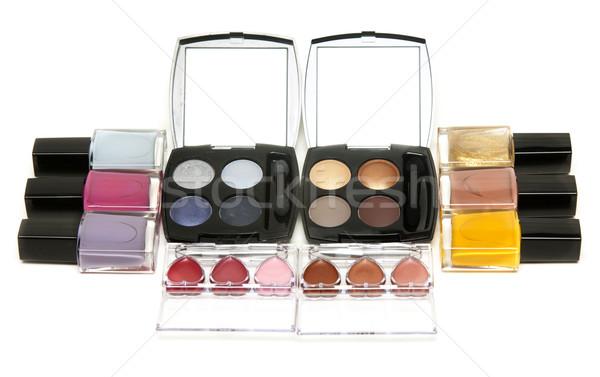 Set of the make-up, varnish for nail Stock photo © RuslanOmega