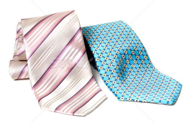 Blue and rose ties Stock photo © RuslanOmega