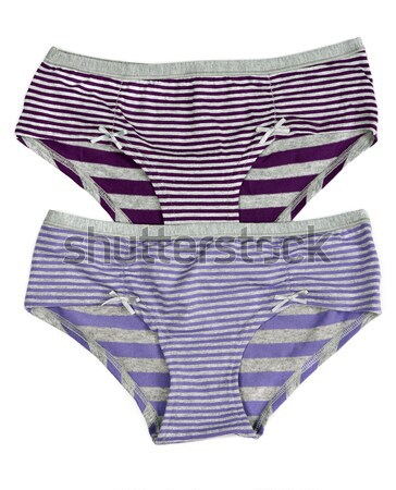 Colored women's striped panties Stock photo © RuslanOmega