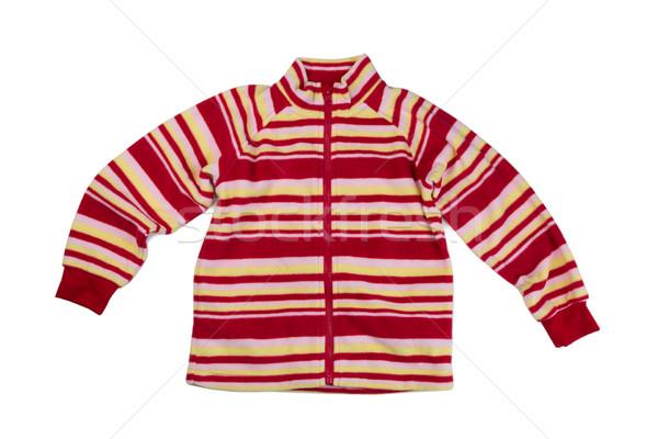 Children fleece sweatshirt Stock photo © RuslanOmega
