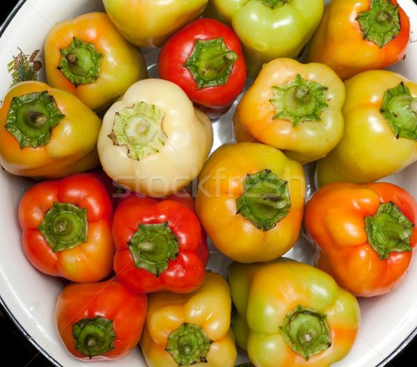 Bulgarian pepper Stock photo © RuslanOmega