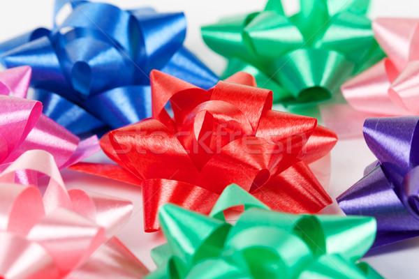 color of gift ribbons Stock photo © RuslanOmega