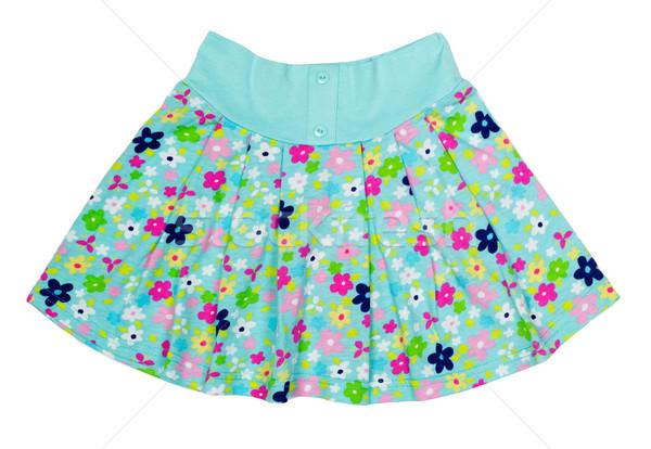 夏 スカート 孤立した 白 女性 デザイン ストックフォト © RuslanOmega