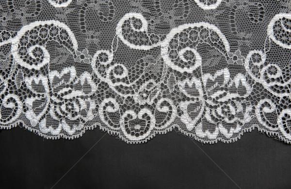 Decorative white lace on insulated Stock photo © RuslanOmega