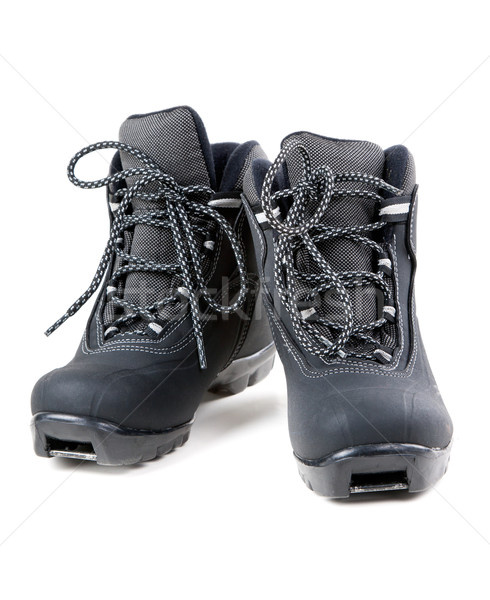 A pair of cross country ski boots Stock photo © RuslanOmega