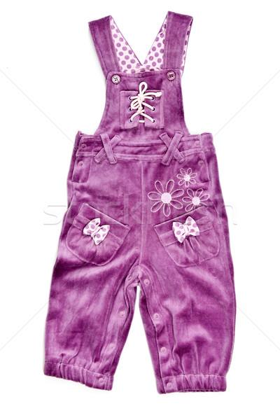 purple panties with suspenders Stock photo © RuslanOmega
