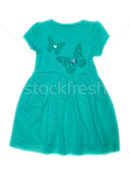 Children's fancy dress with butterfly pattern. Stock photo © RuslanOmega