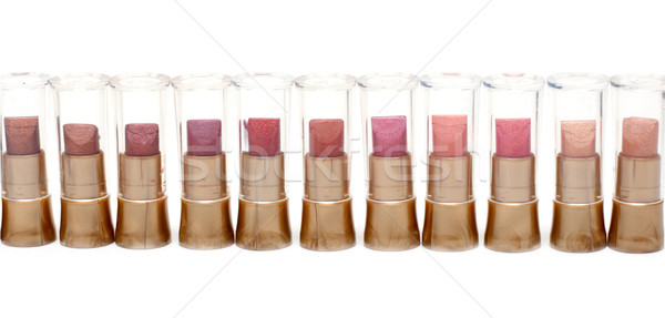 Lipstick in plastic case in line Stock photo © RuslanOmega