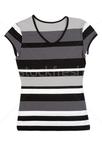 4ce0eb33 Fashionable women's striped blouse Stock photo © RuslanOmega