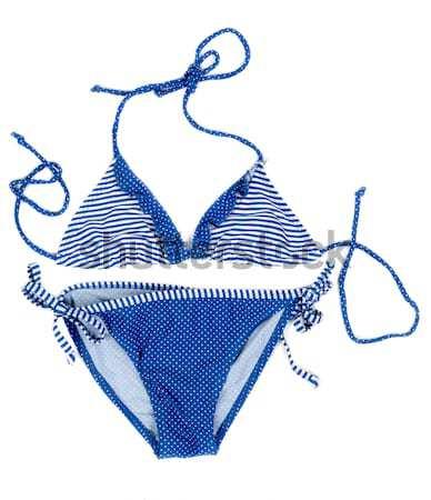 Bright fashionable swimsuit. Bra, panties and shorts. Stock photo © RuslanOmega