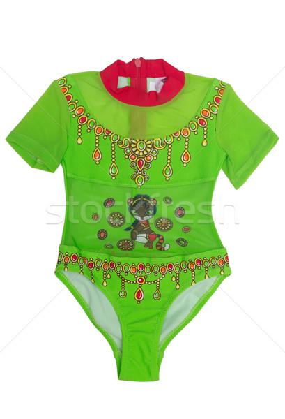 Сток-фото: носить · одежду · шаблон · балет · спортивных · зеленый