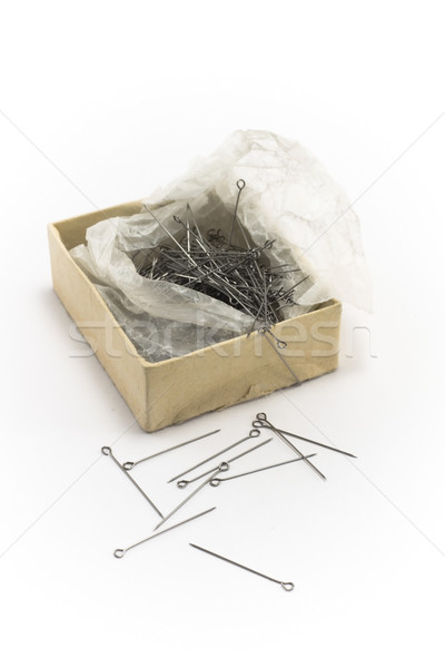 Stock photo: Box with stickpin