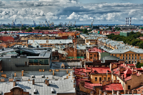 Cityscape view over the rooftops Stock photo © RuslanOmega