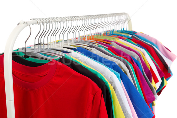 Hanged clothing in fair Stock photo © RuslanOmega