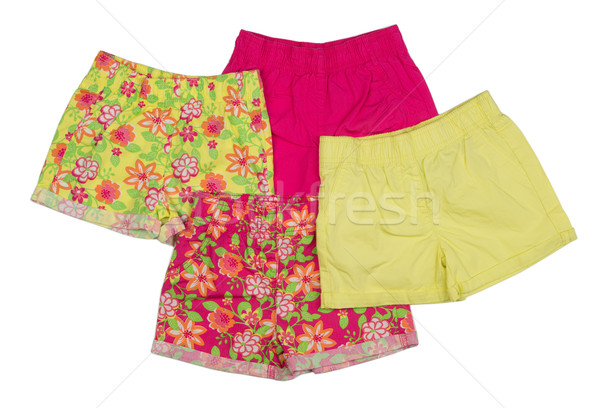 Collage of shorts clothing Stock photo © RuslanOmega