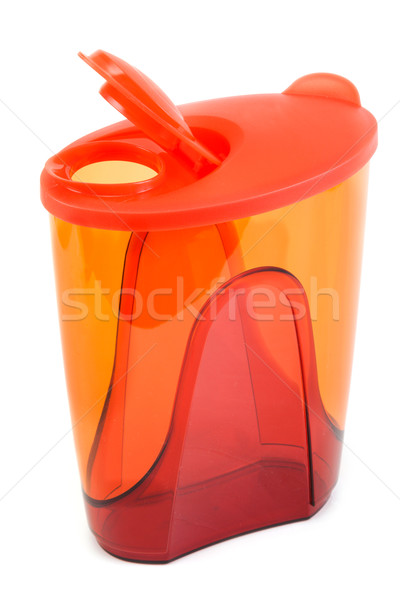 Red plastic pitcher Stock photo © RuslanOmega