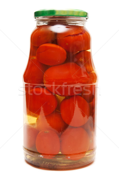 Canned tomatoes Stock photo © RuslanOmega