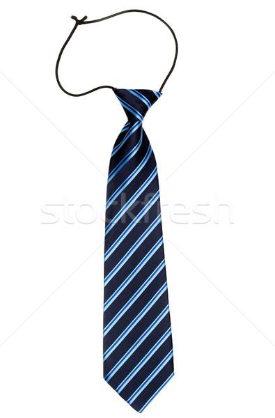 şık çizgili kravat elastik bant yalıtılmış Stok fotoğraf © RuslanOmega