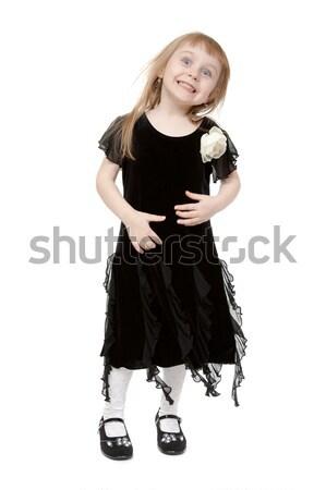 hamming little lady on a white background Stock photo © RuslanOmega