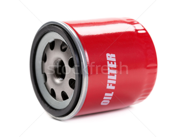 New oil filter car in red steel case Stock photo © RuslanOmega