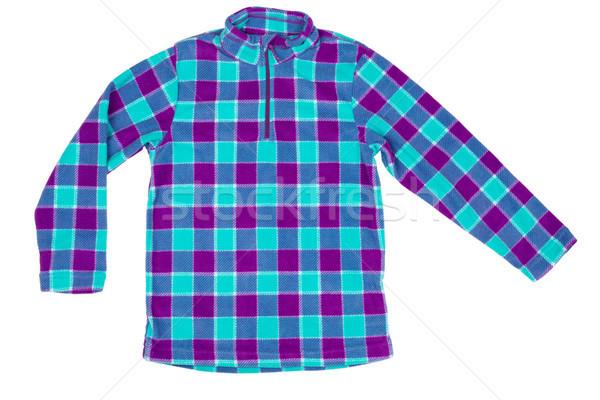 Сток-фото: куртка · большой · квадратный · моде · спорт · ребенка