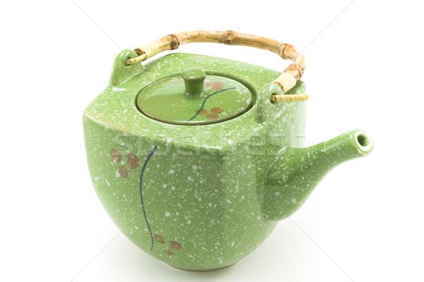 Chinese teapot 4 Stock photo © RuslanOmega