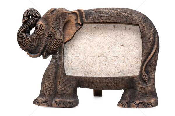Wooden elephant  Stock photo © RuslanOmega