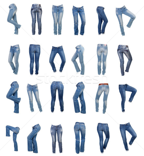 Jeans for women collage Stock photo © RuslanOmega