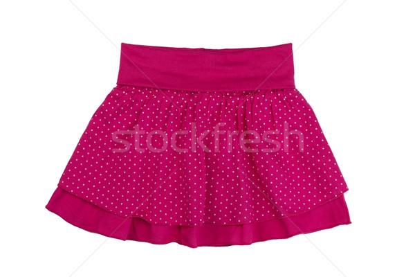 赤 スカート 水玉模様 白 スタジオ ストックフォト © RuslanOmega