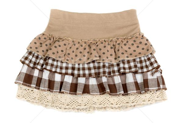 ベージュ スカート 孤立した 白 デザイン 色 ストックフォト © RuslanOmega