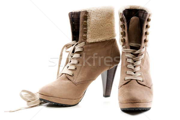 pair of women's shoes Stock photo © RuslanOmega