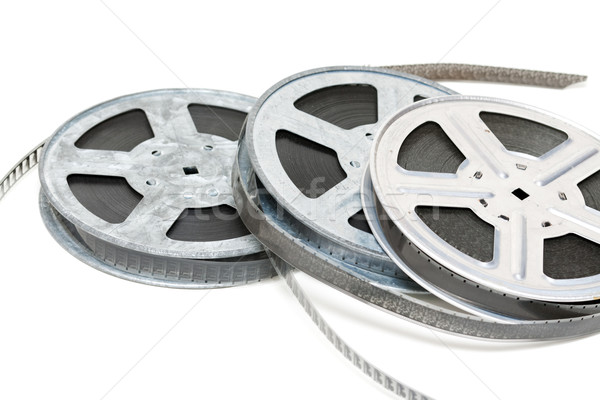 Aluminium reel of film Stock photo © RuslanOmega