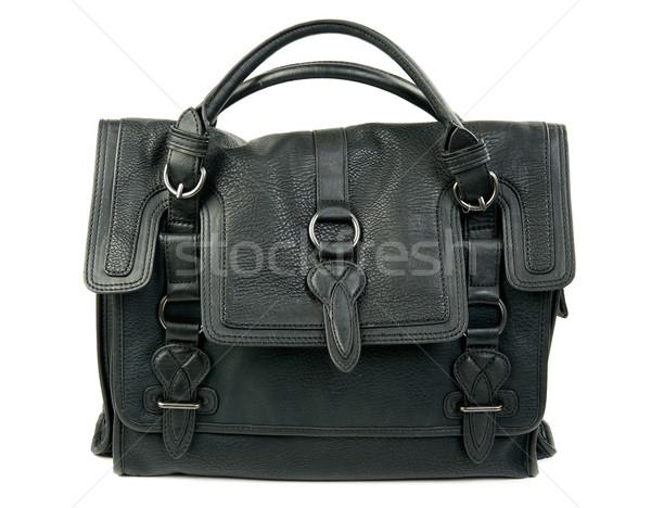 Black women's leather bag Stock photo © RuslanOmega