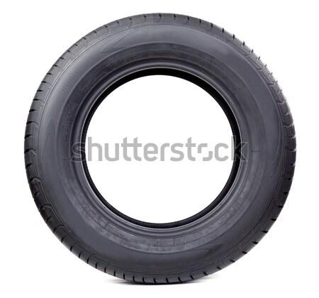 Isolated image of radial tire Stock photo © RuslanOmega