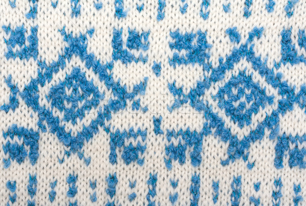 Knitted background with pattern Stock photo © RuslanOmega